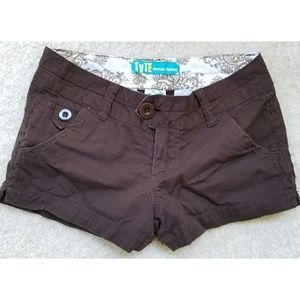 Tyte Brown Short Shorts